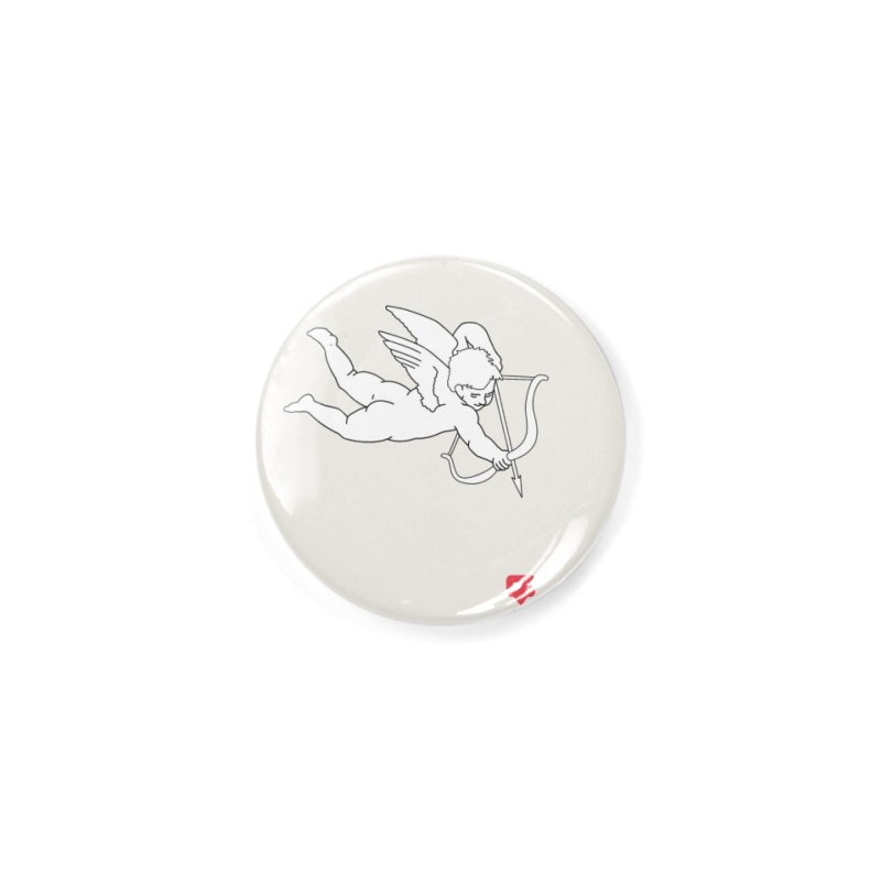 Modern Romance Accessories Button by I am a graphic designer