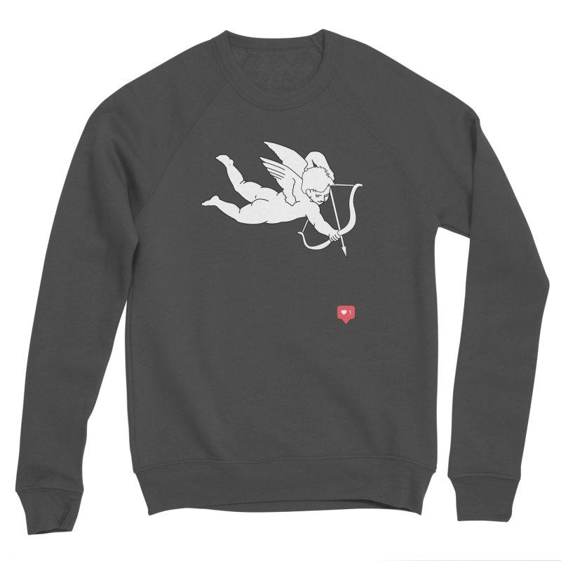 Modern Romance Men's Sponge Fleece Sweatshirt by I am a graphic designer