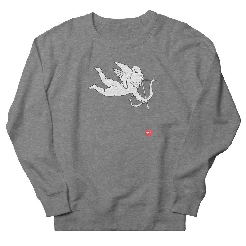 Modern Romance Men's French Terry Sweatshirt by I am a graphic designer