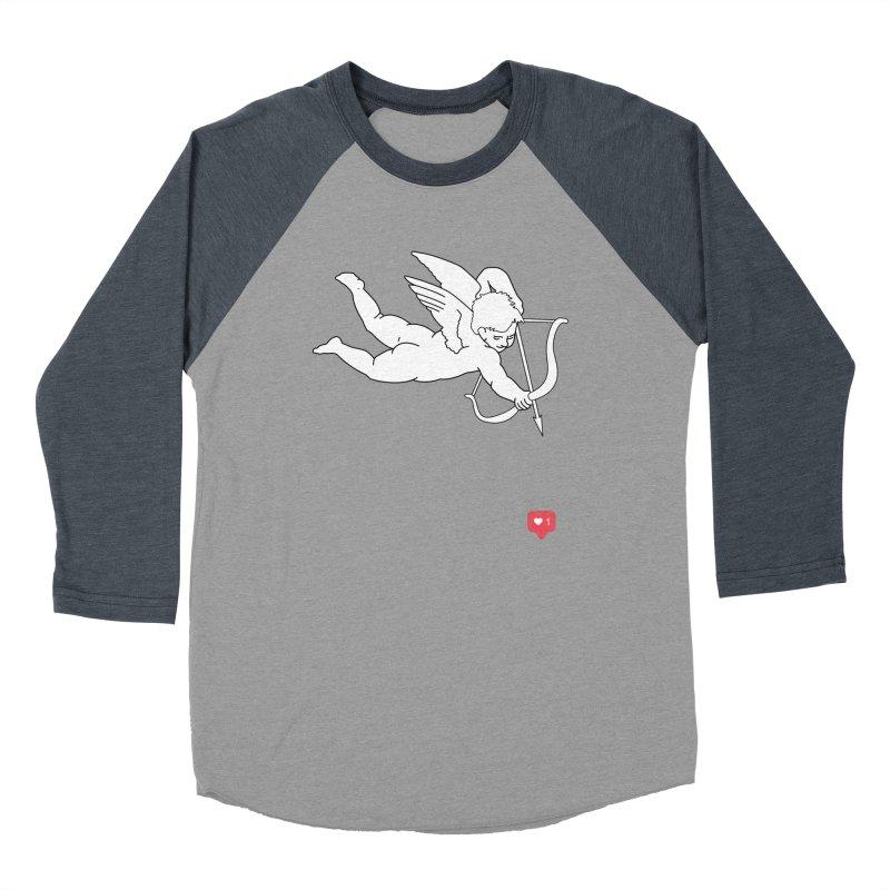 Modern Romance Women's Baseball Triblend Longsleeve T-Shirt by I am a graphic designer