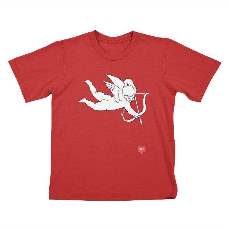 Modern Romance Kids T-Shirt by I am a graphic designer