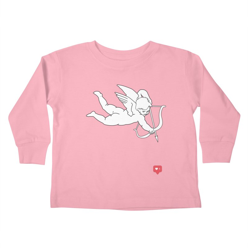 Modern Romance Kids Toddler Longsleeve T-Shirt by I am a graphic designer
