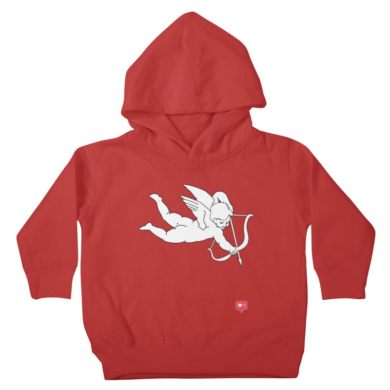 Modern Romance Kids Toddler Pullover Hoody by I am a graphic designer