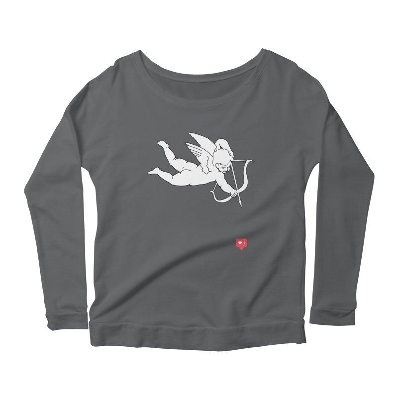 Modern Romance Women's Scoop Neck Longsleeve T-Shirt by I am a graphic designer