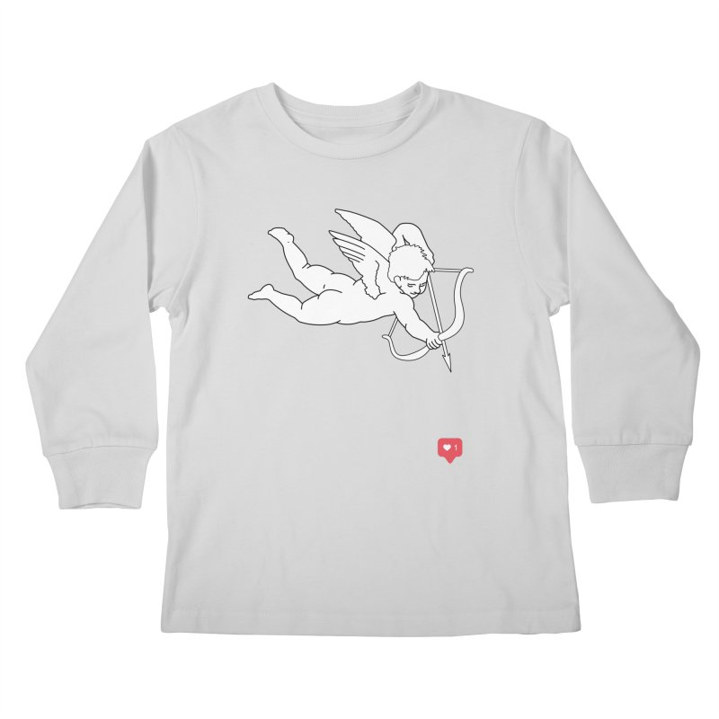 Modern Romance Kids Longsleeve T-Shirt by I am a graphic designer