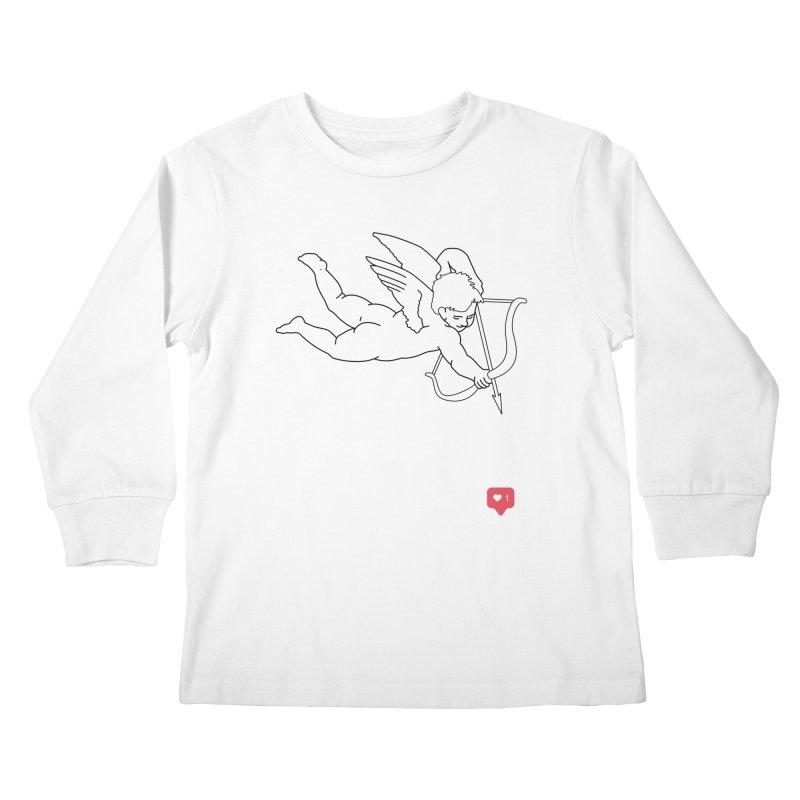 Modern Romance Kids Longsleeve T-Shirt by I am a graphic designer