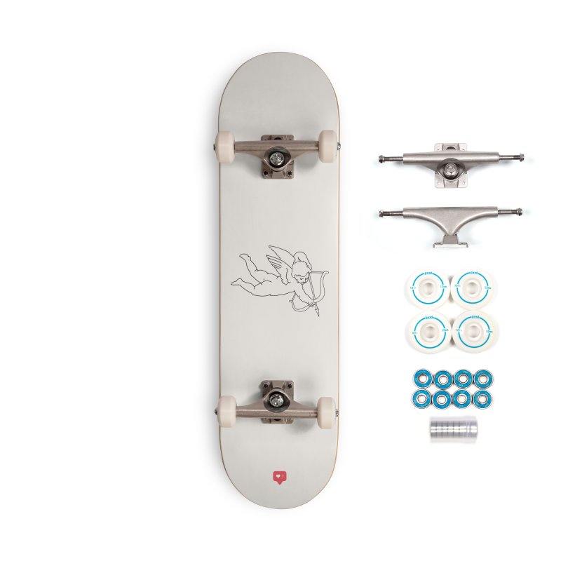 Modern Romance Accessories Complete - Basic Skateboard by I am a graphic designer