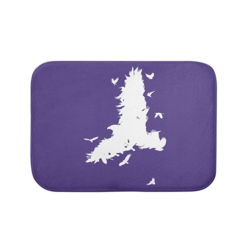 Safety In Numbers Home Bath Mat by I am a graphic designer