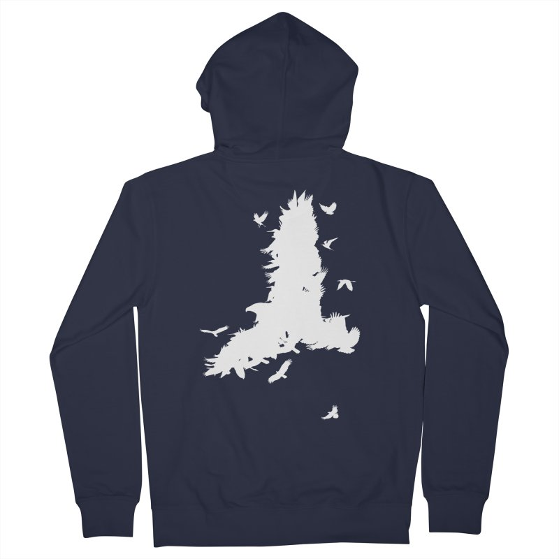 Safety In Numbers Men's French Terry Zip-Up Hoody by I am a graphic designer