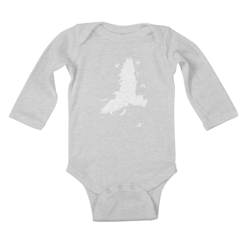 Safety In Numbers Kids Baby Longsleeve Bodysuit by I am a graphic designer