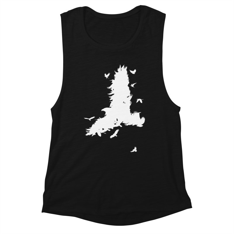 Safety In Numbers Women's Muscle Tank by I am a graphic designer