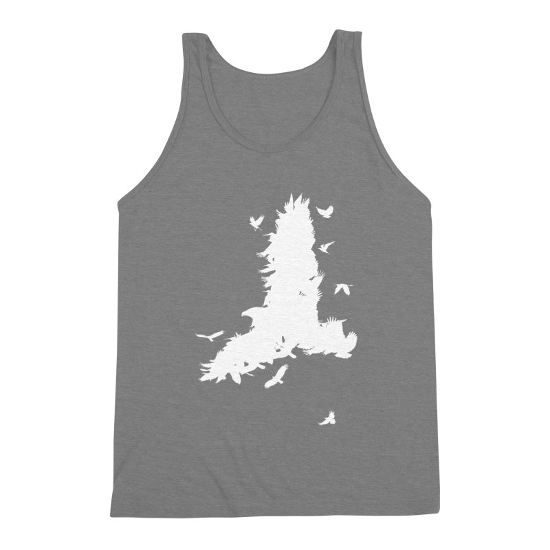 Safety In Numbers Men's Triblend Tank by I am a graphic designer