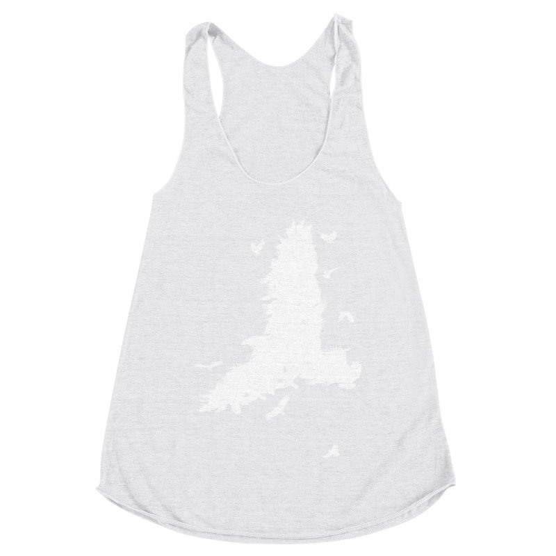 Safety In Numbers Women's Racerback Triblend Tank by I am a graphic designer
