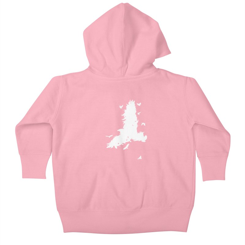 Safety In Numbers Kids Baby Zip-Up Hoody by I am a graphic designer