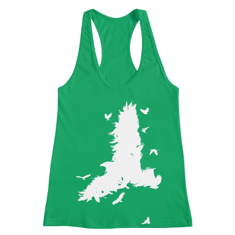 Safety In Numbers Women's Racerback Tank by I am a graphic designer