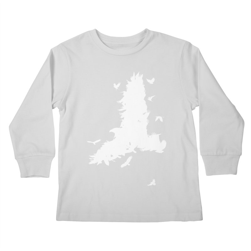 Safety In Numbers Kids Longsleeve T-Shirt by I am a graphic designer