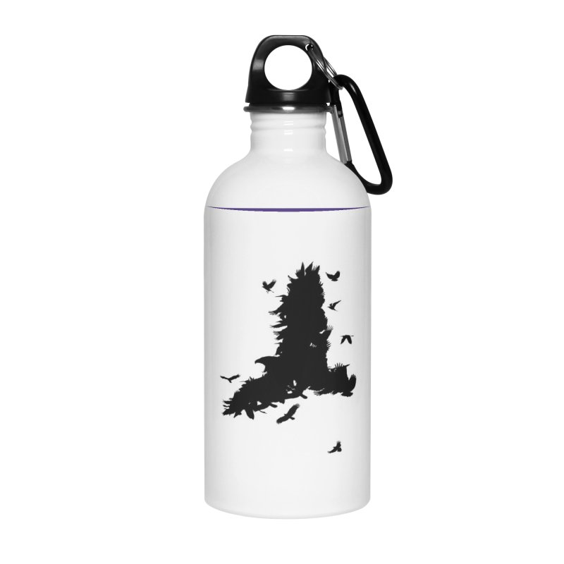 Safety In Numbers Accessories Water Bottle by I am a graphic designer