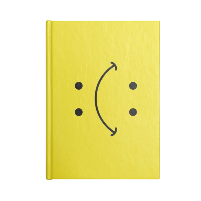 You Decide Accessories Blank Journal Notebook by I am a graphic designer
