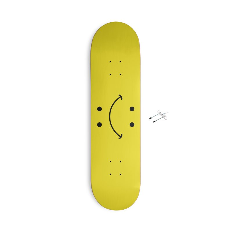 You Decide Accessories With Hanging Hardware Skateboard by I am a graphic designer