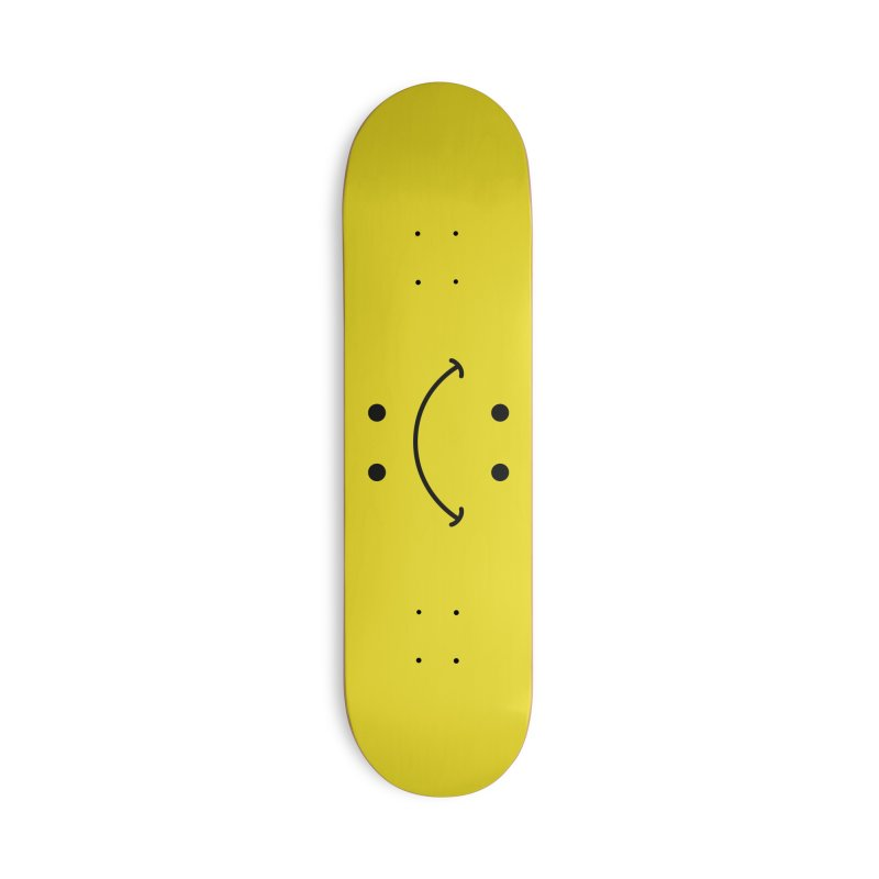 You Decide Accessories Deck Only Skateboard by I am a graphic designer