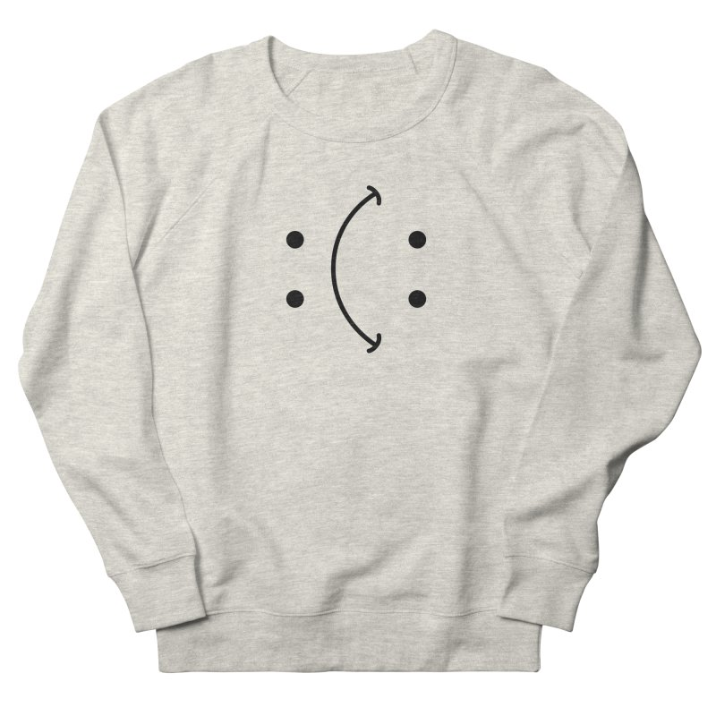 You Decide Men's French Terry Sweatshirt by I am a graphic designer