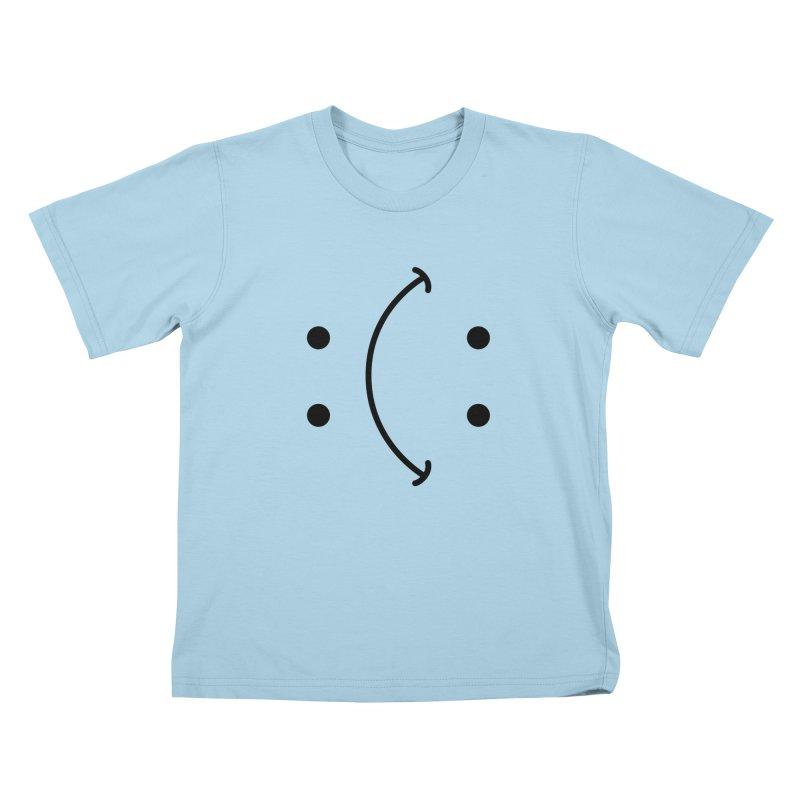 You Decide Kids T-Shirt by I am a graphic designer