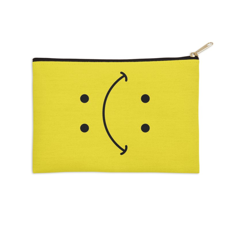 You Decide Accessories Zip Pouch by I am a graphic designer