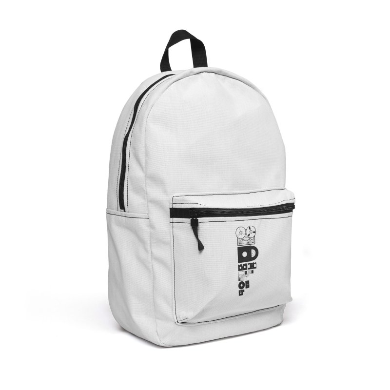 Dead Format Accessories Backpack Bag by I am a graphic designer