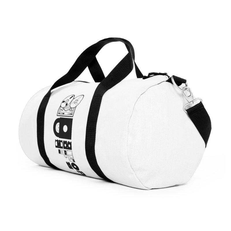 Dead Format Accessories Duffel Bag Bag by I am a graphic designer