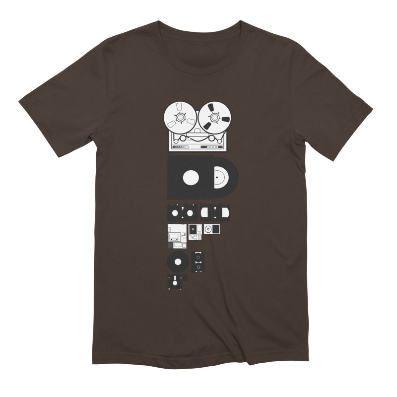 Dead Format Men's Extra Soft T-Shirt by I am a graphic designer