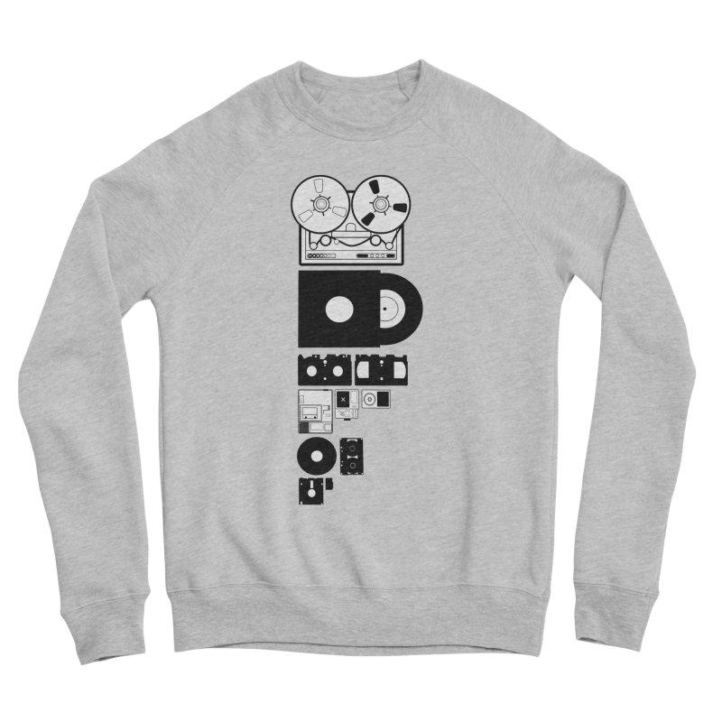 Dead Format Women's Sponge Fleece Sweatshirt by I am a graphic designer