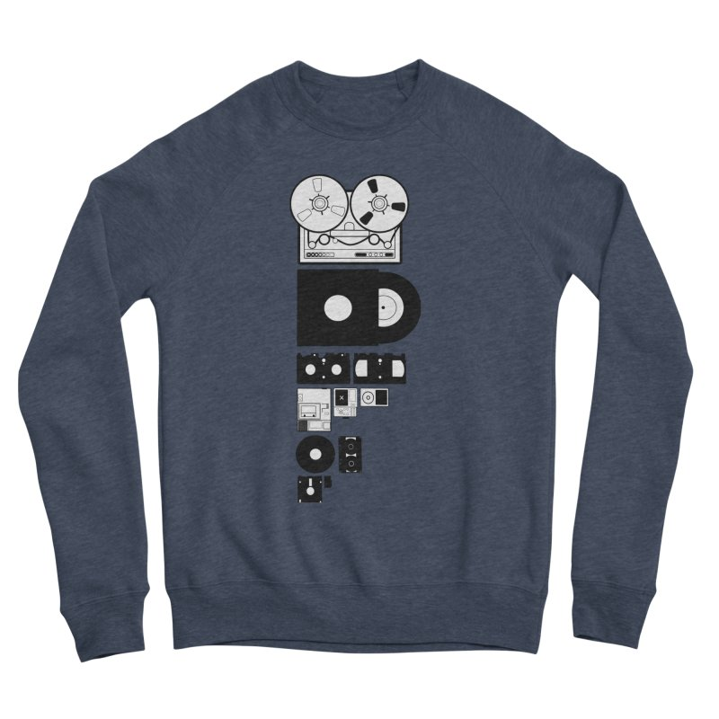 Dead Format Women's Sponge Fleece Sweatshirt by I am a graphic designer