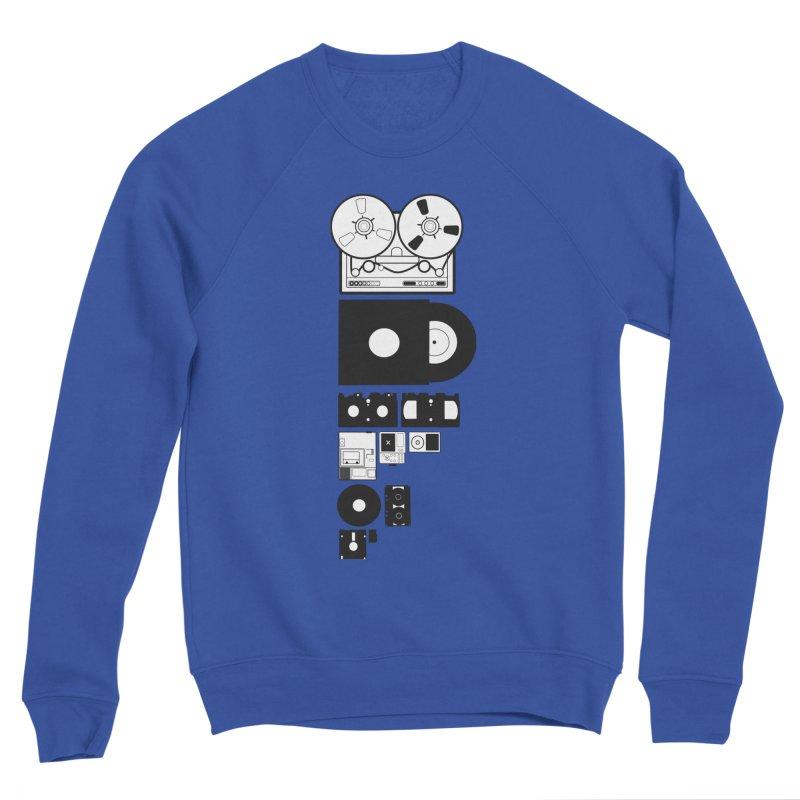 Dead Format Men's Sponge Fleece Sweatshirt by I am a graphic designer