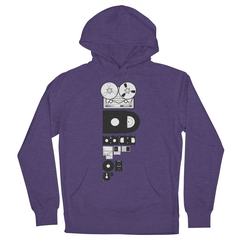 Dead Format Women's French Terry Pullover Hoody by I am a graphic designer