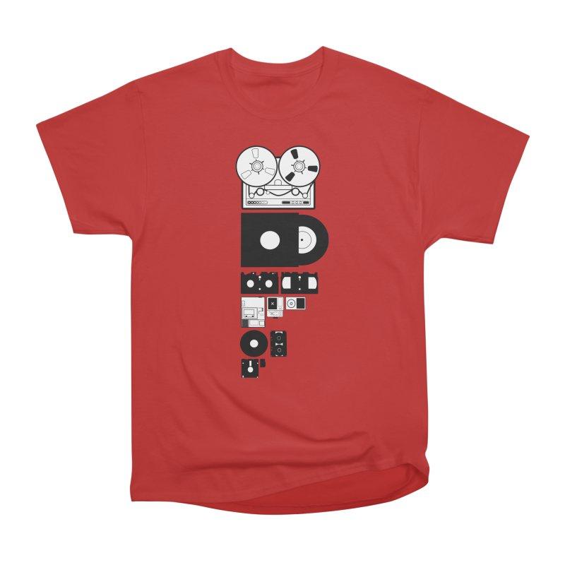 Dead Format Women's Heavyweight Unisex T-Shirt by I am a graphic designer