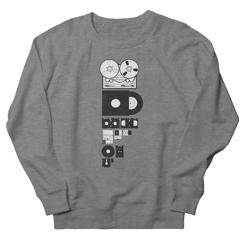 Dead Format Women's French Terry Sweatshirt by I am a graphic designer