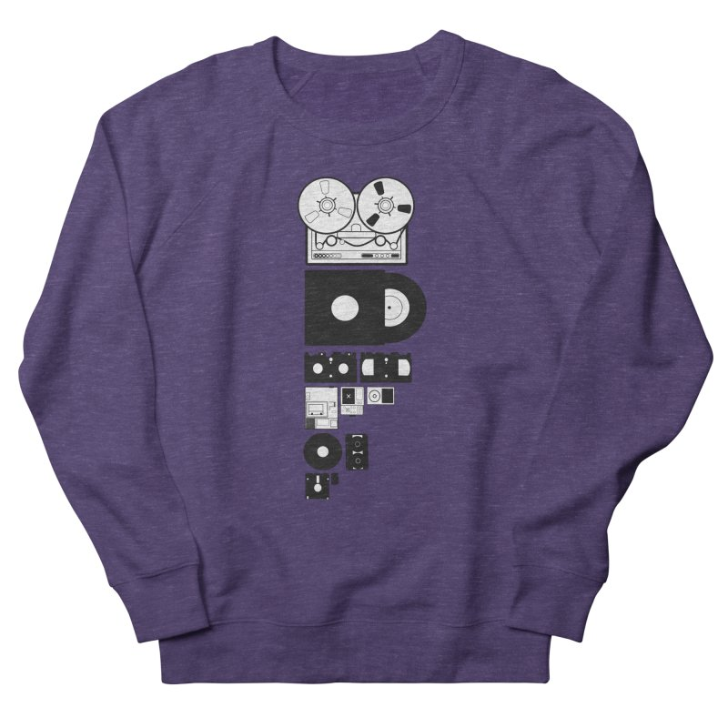 Dead Format Men's French Terry Sweatshirt by I am a graphic designer
