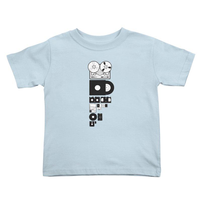 Dead Format Kids Toddler T-Shirt by I am a graphic designer