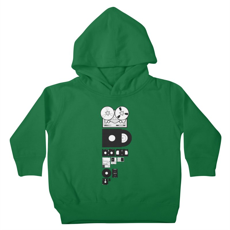 Dead Format Kids Toddler Pullover Hoody by I am a graphic designer