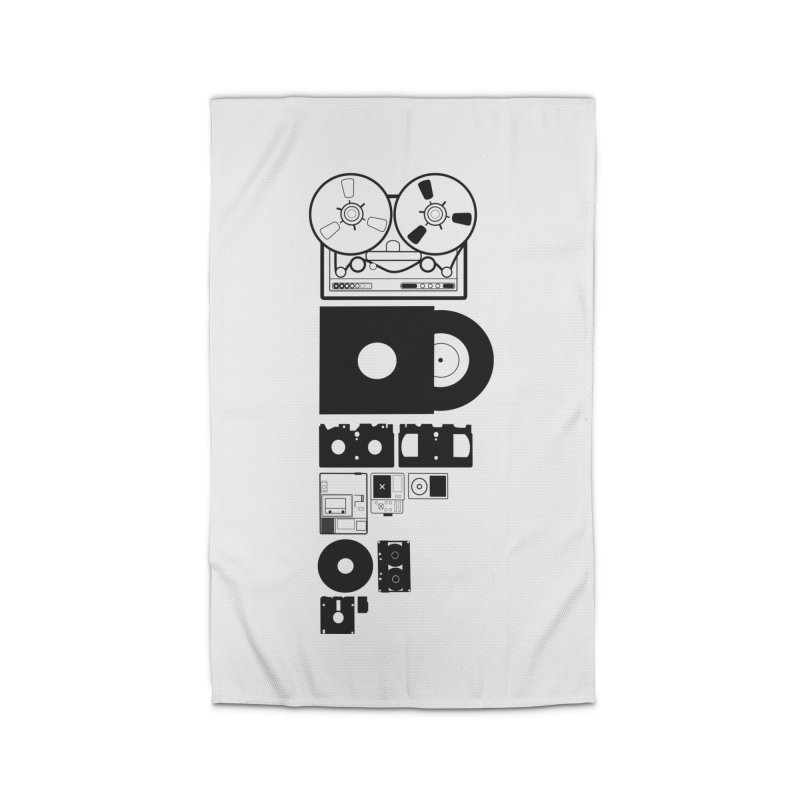 Dead Format Home Rug by I am a graphic designer
