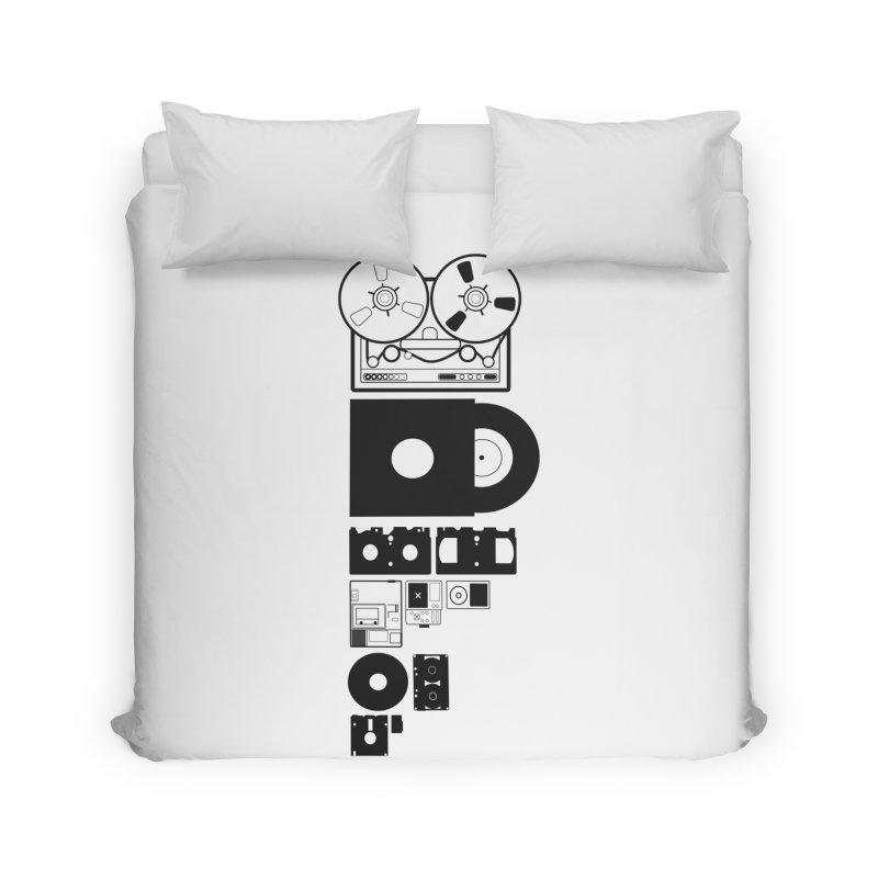 Dead Format Home Duvet by I am a graphic designer