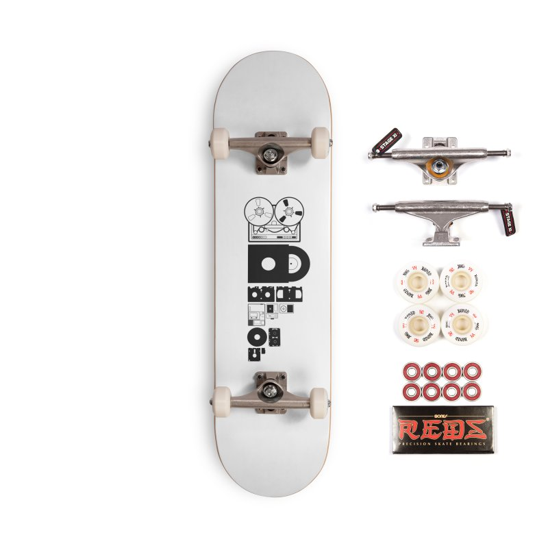 Dead Format Accessories Complete - Pro Skateboard by I am a graphic designer