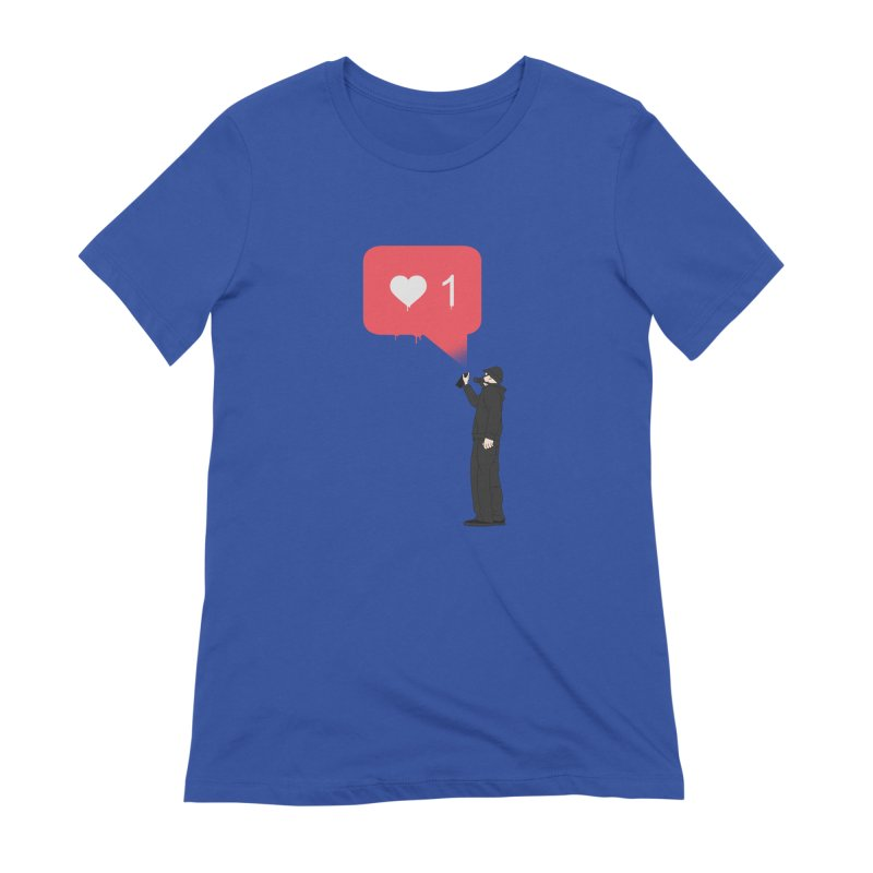 Modern Heart Women's Extra Soft T-Shirt by I am a graphic designer