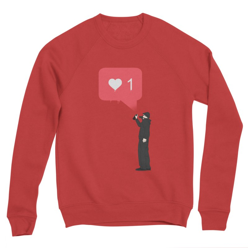 Modern Heart Women's Sponge Fleece Sweatshirt by I am a graphic designer