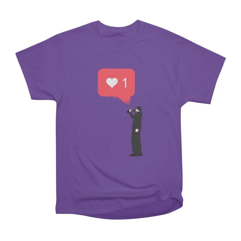Modern Heart Women's Heavyweight Unisex T-Shirt by I am a graphic designer