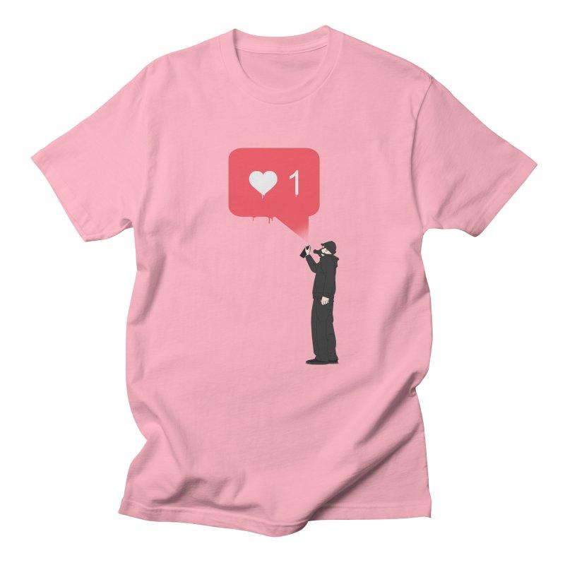 Modern Heart Men's Regular T-Shirt by I am a graphic designer