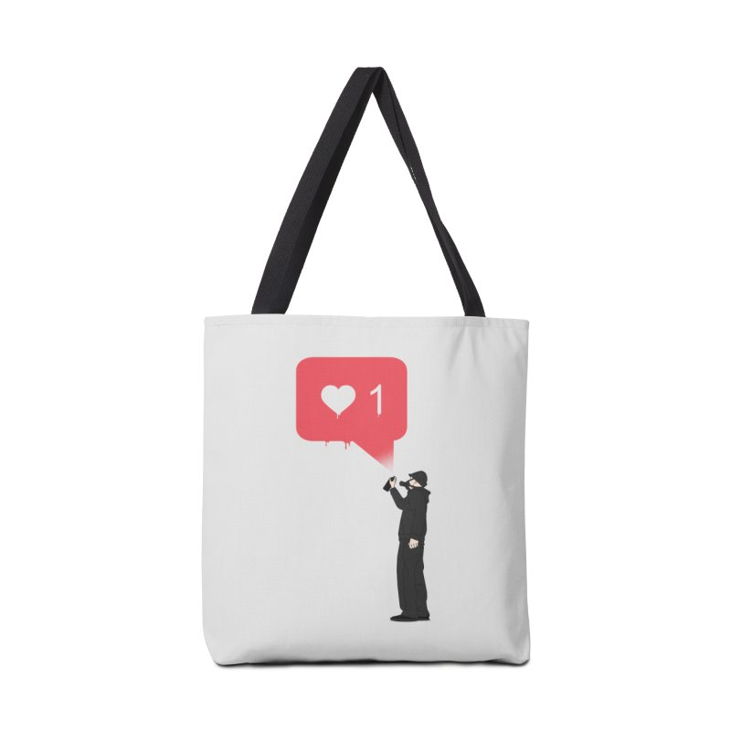 Modern Heart Accessories Tote Bag Bag by I am a graphic designer