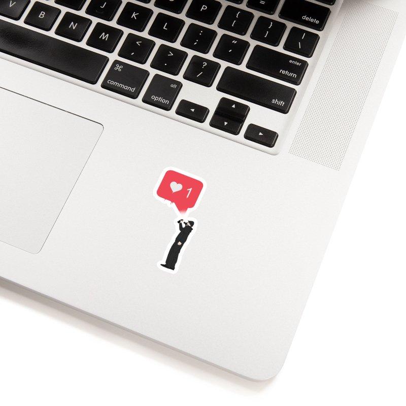Modern Heart Accessories Sticker by I am a graphic designer