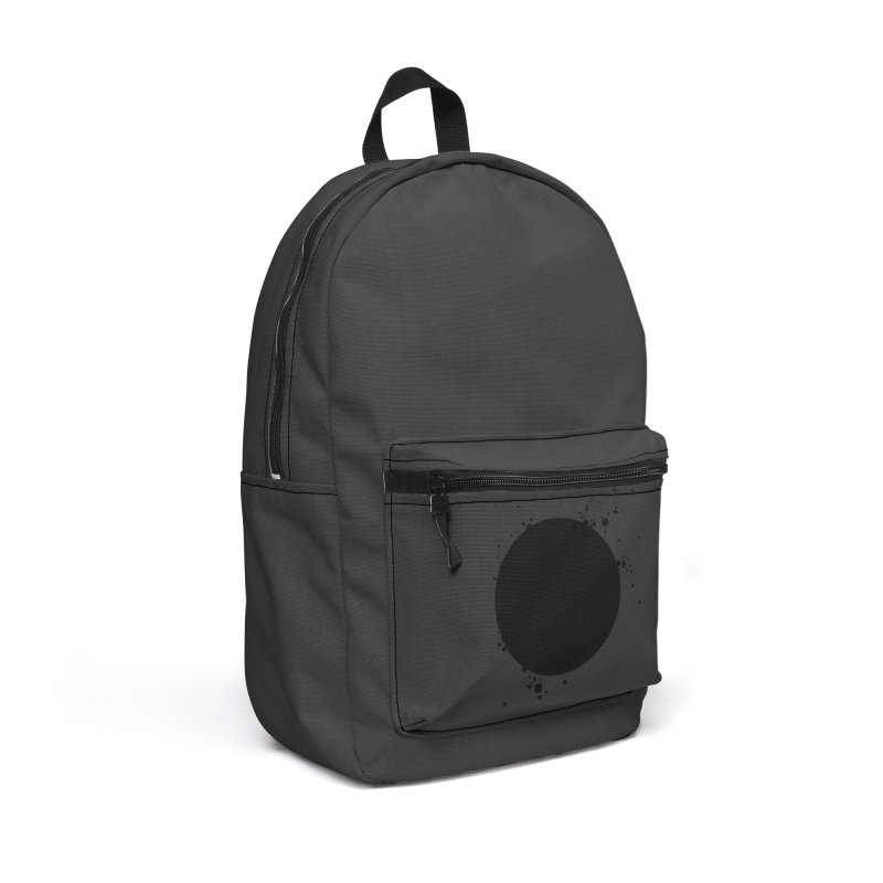 Black Hole Accessories Backpack Bag by I am a graphic designer