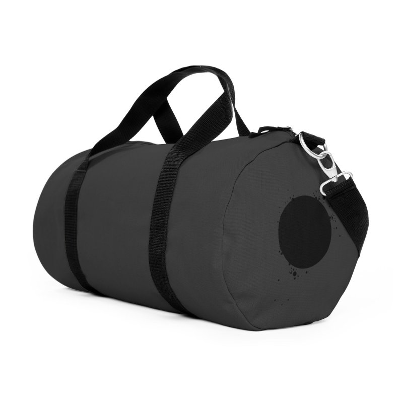 Black Hole Accessories Duffel Bag Bag by I am a graphic designer
